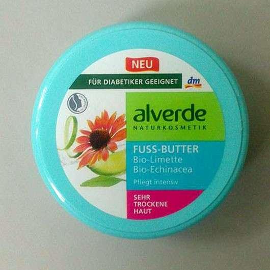 alverde Fuss-Butter Bio-Limette Bio-Echinacea
