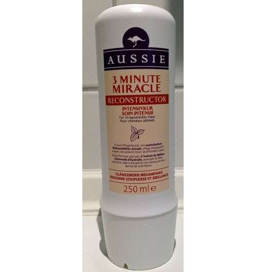Aussie 3 Minute Miracle Reconstructor Intensivkur