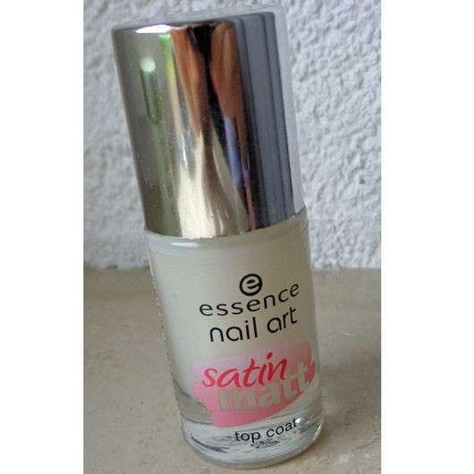 essence nail art satin matt top coat – Farbe: 26 matt about you!