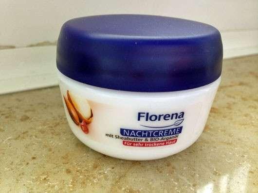 Florena Nachtcreme mit Sheabutter und Bio-Arganöl
