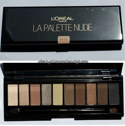 L'Oréal Paris Color Riche La Palette, Farbe: 02 Nude Beige1