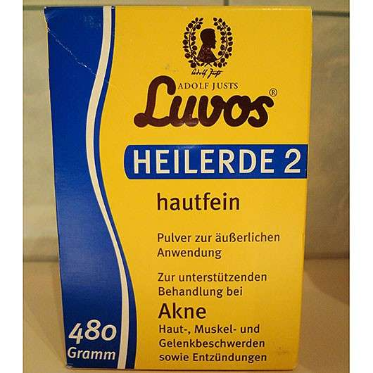 Luvos Heilerde 2 hautfein