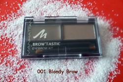 Produktbild zu MANHATTAN Brow'Tastic Eyebrow Kit – Farbe: 001 Blondy Brow