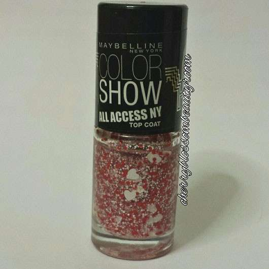Maybelline Color Show All Access NY Top Coat, Farbe: 424 (NY Lover) (LE)