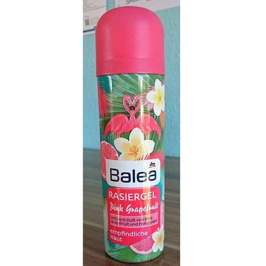 Test - Haarentfernung - Balea Rasiergel Pink Grapefruit