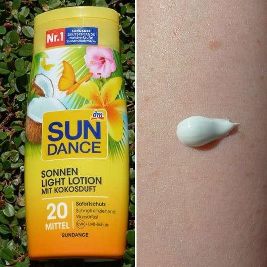 SunDance Sonnen Light Lotion mit Kokosduft LSF20