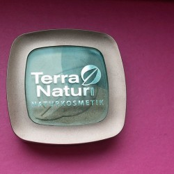 Produktbild zu Terra Naturi Naturkosmetik Metallic Trio Eyeshadow – Farbe: 03 Coffee Party