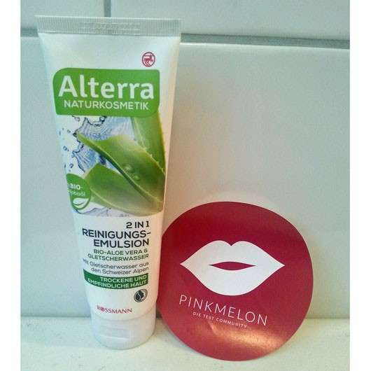 Alterra 2 in 1 Reinigungsemulsion Bio-Aloe Vera & Gletscherwasser