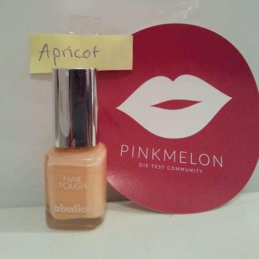 abalico Nail Polish, Farbe: Apricot