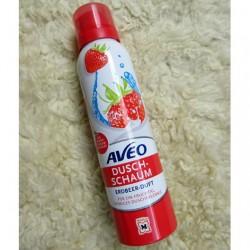 Produktbild zu AVEO Duschschaum Erdbeer-Duft