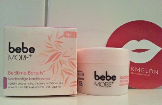 bebe MORE Bedtime Beauty - Reichhaltige Nachtcreme