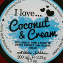 I love… Coconut & Cream Nourishing Body Butter