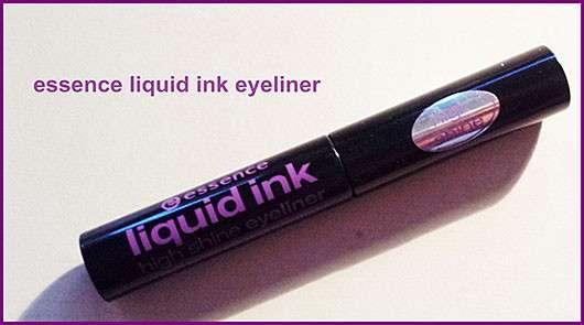 essence liquid ink high shine eyeliner, Farbe: black