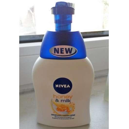 Nivea honey & milk Cremeseife