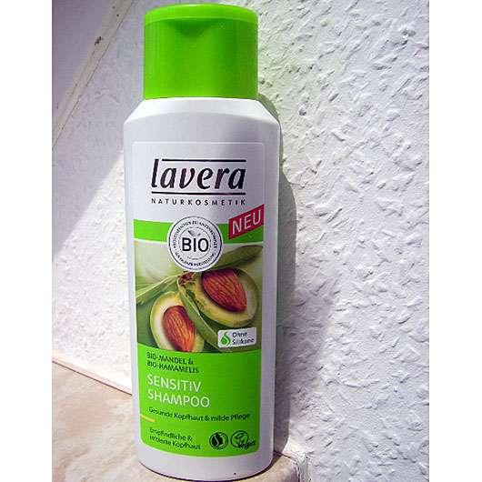 test shampoo lavera sensitiv shampoo bio mandel bio. Black Bedroom Furniture Sets. Home Design Ideas