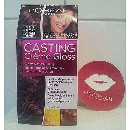 <strong>L'ORÉAL PARiS Casting Crème Gloss</strong> Glanz-Reflex-Farbe - Farbe: 515 Chocolate Cookie