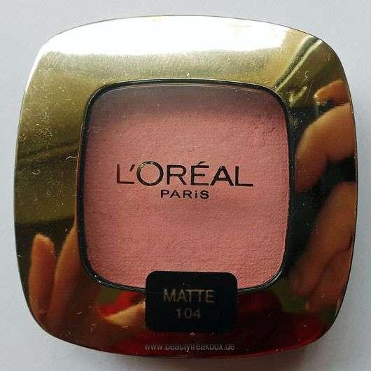 L'Oréal Paris Color Riche L'Ombre Pure, Farbe: 104 La Vie En Rose (Matte)