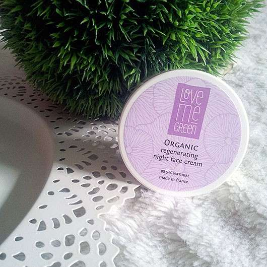 Love Me Green Organic Regenerating Night Face Cream