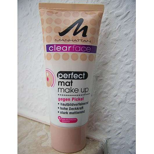Manhattan Clearface Perfect Mat Make Up, Farbe: 77 Natural