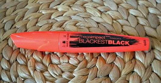 wet n wild Mega Impact Blackest Black Mascara, Farbe: Blackest Black
