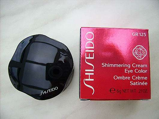 Shiseido Shimmering Cream Eye Color, Farbe: GR125 Naiad