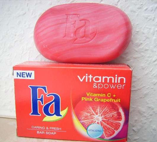 Fa Vitamin & Power Vitamin C + Pink Grapefruit Festseife