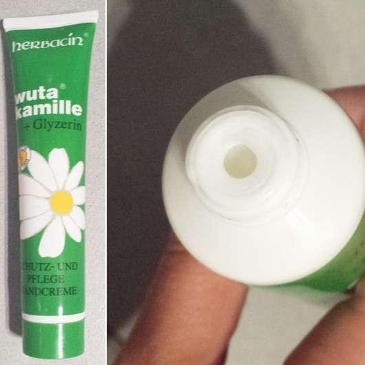 Herbacin Wuta Kamille + Glyzerin Schutz- und Pflegehandcreme