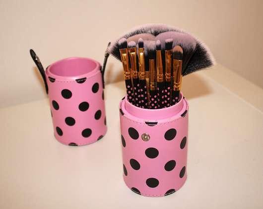 test pinsel set bhcosmetics pink a dot 11 teiliges. Black Bedroom Furniture Sets. Home Design Ideas