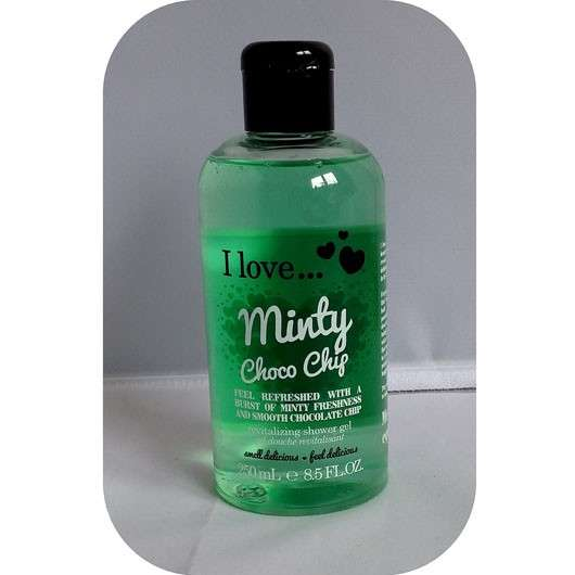 <strong>I love…</strong> Minty Choco Chip Revitalizing Shower Gel