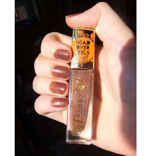 Teeez Cosmetics Head Over Heels Nail Lacquer, Farbe: Pearl Nova