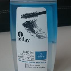Produktbild zu today Augen Make-up Entferner für wasserfestes Make-up