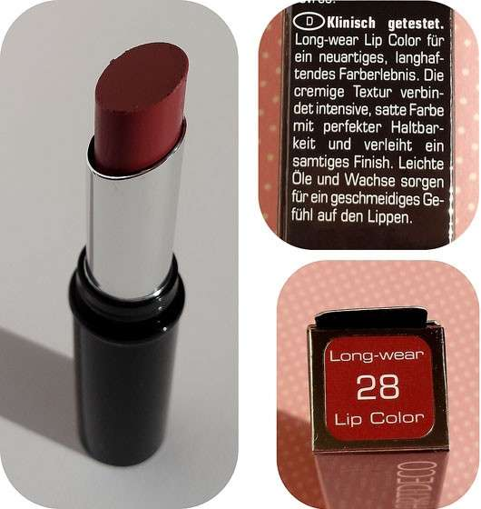 Artdeco Long-Wear Lip Color, Farbe: 28 rich turkish rose