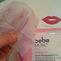 Produktbild zu bebe® More Pure Touch Sanfte Reinigungstücher