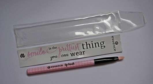 essence make me pretty lip brush (LE)