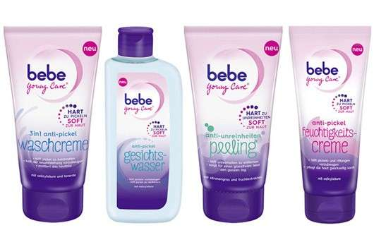 Anti-Pickel-Linie von bebe Young Care