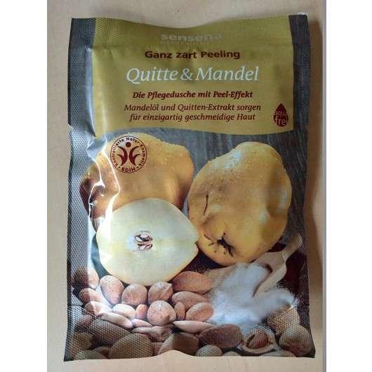 Sensena Ganz Zart Peeling Quitte & Mandel