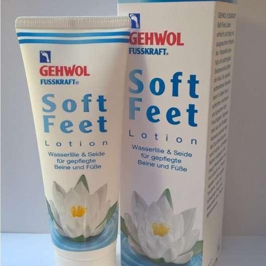 GEHWOL FUSSKRAFT Soft Feet Lotion Wasserlilie & Seide