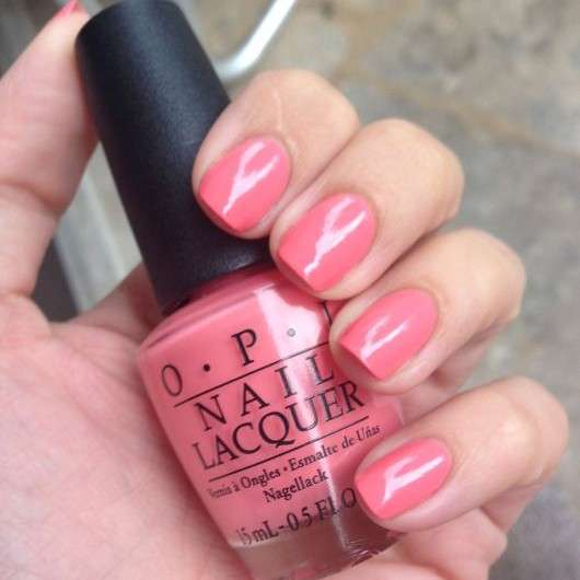 OPI Nail Lacquer, Farbe: Sorry I'm Fizzy Today (LE)