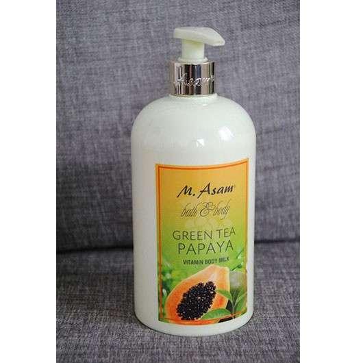 M.Asam Green Tea Papaya Vitamin Body Milk (LE)