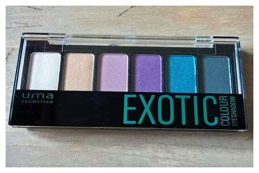"uma cosmetics ""Why not, wild hot!"" Exotic Colour Eyeshadow Palette (LE)"