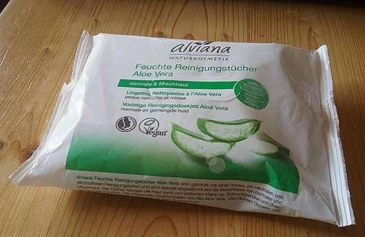 <strong>alviana</strong> Feuchte Reinigungstücher Aloe Vera