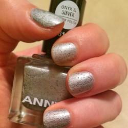Produktbild zu ANNY Cosmetics Onyx & Silver Effect Polish – Farbe: 361.30 hot material (LE)