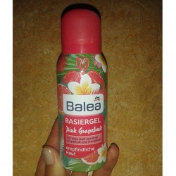 Produktbild zu Balea Rasiergel Pink Grapefruit