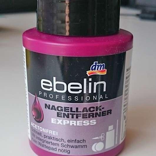 ebelin Professional Nagellackentferner Express acetonfrei