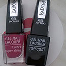 IsaDora Gel Nail Lacquer + Top Coat, Farbe: 245 Berry Baroque