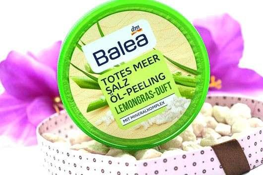 Balea Totes Meer Salz Öl-Peeling Lemongras-Duft