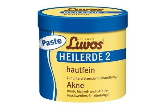 Gebrauchsfertige Paste Luvos-Heilerde 2 hautfein
