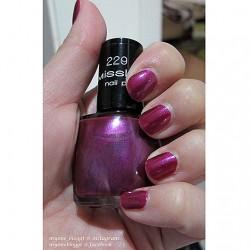Produktbild zu Misslyn nail polish – Farbe: 229 Party On