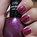 Misslyn nail polish, Farbe: 229 Party On