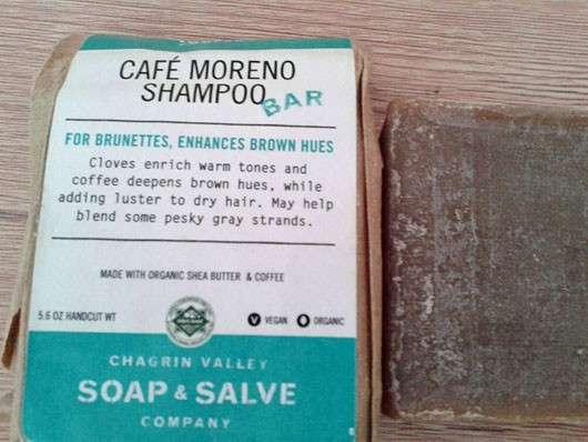 """Chagrin Valley Soap & Salve Shampoo Bar """"Café Moreno"""""""